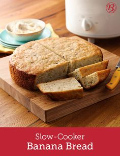 There's no better way to use your overripe bananas than in this slow-cooker banana bread recipe. Using Bisquick™ mix as the base makes assembly quick and easy!