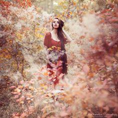 """current mood:autumn"" by Ekaterina Pokrovskaya, via 500px."
