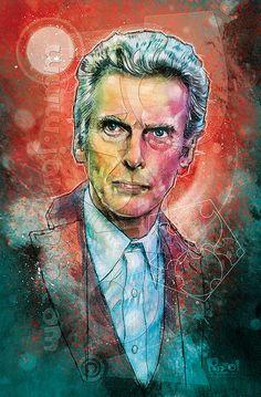 The 12th Doctor by jonpinto.deviantart.com on @DeviantArt
