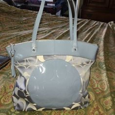 Coach Authentic Pristine Condition Clean inside and outside. Hx12Lx13. WELCOME OFFER. WELCOME TRADES. USE OFFER BUTTON. BLUE COLOR LARGE Coach Bags Shoulder Bags