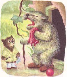 Little Fur Family  Margaret Wise Brown ~ Garth Williams ~ Harper & Row, 1946