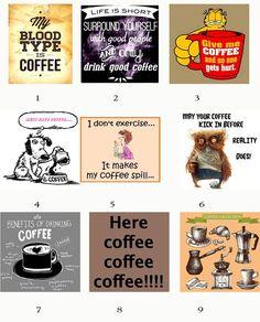 SERIES 1-Mix or Match-5 Blank Note C - Studioart88 Best Coffee, My Coffee, Coffee Drinks, Clark Art, My Cup Of Tea, Art Paintings, Plastic Case, Beverage, Tea Cups