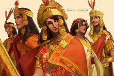 Hetalia:Inca by OldSting on DeviantArt Character Concept, Character Art, Concept Art, Character Design, Ancient Aztecs, Ancient Civilizations, Maya, Hetalia, Inca Art