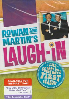 Coming to DVD this September is one of the most ground breaking television shows that left an impact on my funny bone with Time Life's ROWAN & MARTIN'S LAUGH-IN: The Complete First Season. http://moviemaven.homestead.com/services.html