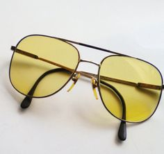 Pucci Designer Yellow Lens Sunglasses by normajeanscloset on Etsy