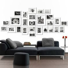 26 pcs Wall Photo/Picture Frames Decor - White