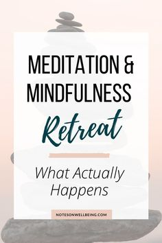 Ever wondered what actually happens when you go to a meditation retreat? Has the unknown stopped you from going? In this article, I explain exactly what I experienced at my first retreat and why I think you should go on one too. Mindfulness Retreat, Group Meditation, Meditation Retreat, Guided Meditation, Spiritual Health, Spiritual Quotes, Spiritual Retreats, Self Development Books, Personal Development