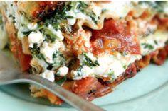Low fat lasagne