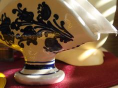 Szalvétatartó cserépdekoráció / for napkins Napkins, Table Lamp, Pottery, Home Decor, Ceramica, Lamp Table, Towels, Napkin, Interior Design