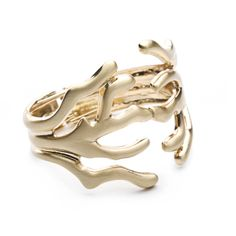 Gold hinge ring. (only $9) #jewelry #fashion #style #sp