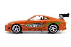 Jada 1/32 Scale Fast & Furious Brians Toyota Supra Orange Diecast Car Model 97345