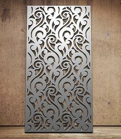 Miles and Lincoln - the UK& leading designer of laser cut screens for decorative interior panels, external architectural cladding, balustrades and ceilings Laser Cut Screens, Laser Cut Panels, Laser Cut Metal, Metal Panels, Screen Design, Gate Design, Door Design, Decorative Metal Screen, Decorative Panels