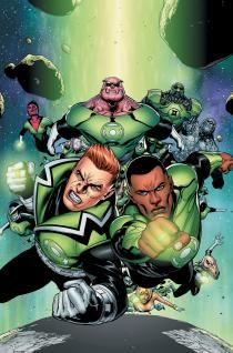 GREEN LANTERN CORPS VOL. 1: FEARSOME | DC Comics  (drawing, cartoon, comic book, design)