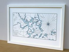 Amazoncom Lawrence Frames Shadow Box Frame With Linen Inner - Paper size us white map