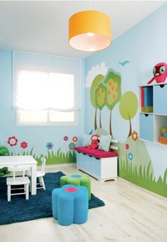 This playroom just makes me smile!