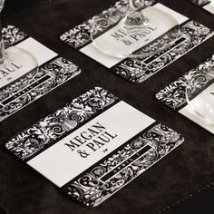 Personalized Wedding Coasters by Beau-coup