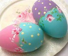 ovos Ideias de decoração para a Páscoa! Acesse: https://pitacoseachados.wordpress.com #pitacoseachados