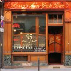 Harry's New York Bar... Paris, France and the best Bloody Mary ever!