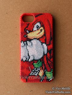 Knuckles - iPhone 5 Case by VioletValhalla on DeviantArt