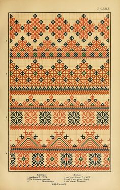 Mordvin patterns (1896) iii