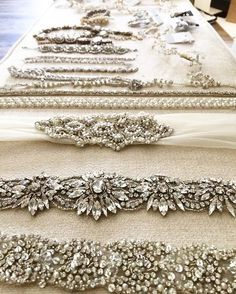 We also sell a huge variety of bridal accessories ranging from veils to belts to earrings!