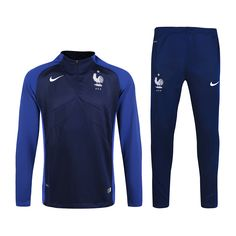 $45- FRANCE LONG SLEEVE JERSEY TRACK SUIT TRAINING JERSEY 2016 RED