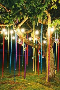 Celebrating outdoor birthday parties are one of the most fun filled events but you can make it look very interesting by appropriate décor styles. When planning for a kid's birthday party you can ad… Beltane, Summer Party Decorations, Wedding Decorations, Wedding Ideas, Wedding Colors, Outdoor Birthday Decorations, Festival Decorations, Garden Decoration Party, Bohemian Party Decorations