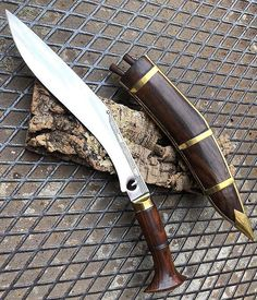 The Kukri or khukuri the traditional knife of the Gurkha soldiers in Nepal