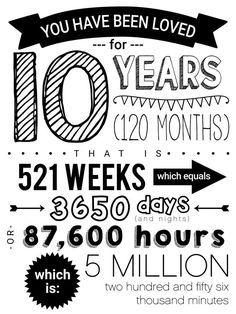 Birthday Poster 10th Birthday Happy 10th Birthday, Golden Birthday, 10th Birthday Parties, Birthday Fun, Birthday Party Themes, Birthday Wishes, Birthday Posters, Birthday Morning Surprise, Boy Birthday Quotes