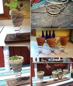 WhatToDoWithOld What To Do With Old Bed Springs?