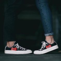 newest c23e5 46c5f Cdg Converse, Outfits With Converse, Matching Shoes For Couples, Buy Shoes,  Me