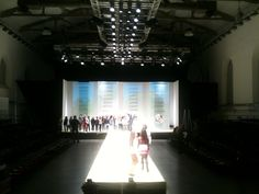 Pitti fashion show