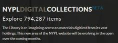 NYPLDigital Collections (New York Public Library)