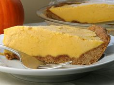 Cinnamon Cookie Pie Crust (and pumpkin ice cream) - To make low carb leave out the honey and use your favorite sugar free sweetener.