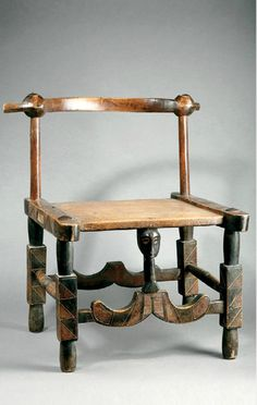 Africa | Chair from the Senufo people of Ivory Coast | Wood