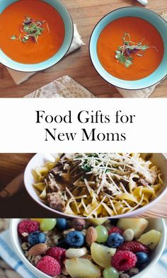 Food gifts for new moms | food for friends with new baby | gifts for new moms | gifts for new parents | food gifts | ourguidetotheeveryday.com