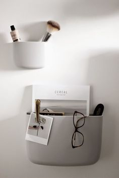 normann copenhagen, pocket organizers, bedroom styling, scandinavian interior, via http://www.scandinavianlovesong.com/