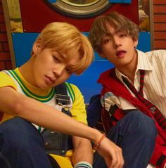 Tae put that tongue away boi, how good does vmin look right now