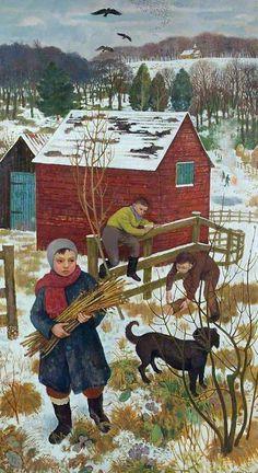 A Winter Morning - Alberto Morrocco