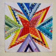 Deshilachado: Estrellas de patchwork // Patchwork stars