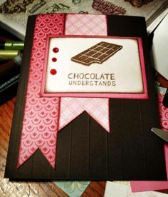 """""""A Chocolate Affair"""" August Stamp of the Month 2013 #CTMH"""
