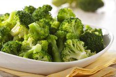 Warme groetenschotel - brocolli met gember en citroen