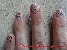 La casita de Gema: Tutorial uñas decoradas (Nail art) en vídeo Nº26 Uñas vintage / Vintage nails