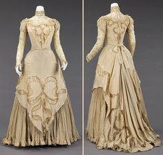 ca 1890. Dress, Evening. Herbert Luey