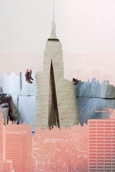 Inspiration: Cityscapes for Proenza Schouler SS14. http://www.dazeddigital.com/fashion/article/17121/1/proenza-schouler-ss14