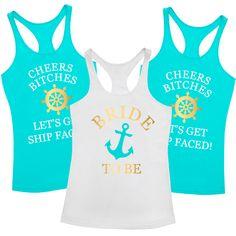a9e1140a2 Let's Get Ship Faced T Shirt Pack A fun and fabulous t shirt for the girls