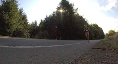 Some of the running can be lonely, but it's BEAUTIFUL in #Oregon!! #NuunHTC #HTC14 #GoPro