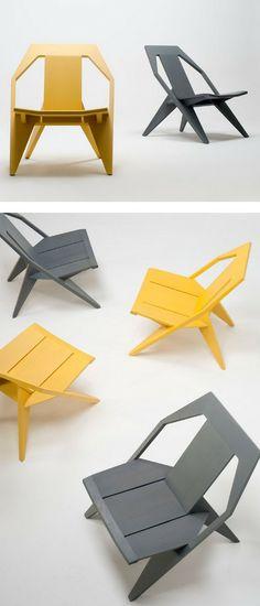 Wooden #chair MEDICI by Mattiazzi | #design Konstantin Grcic @MattiazziSrl