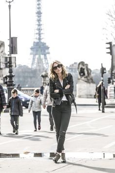anine bing outfit paris