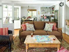 Comfortable Cottage Living Room Furniture